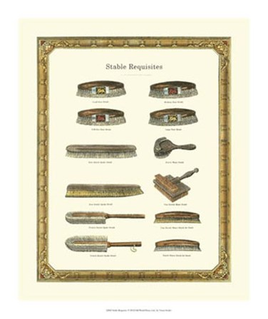 Stable Requisites by Vision Studio art print