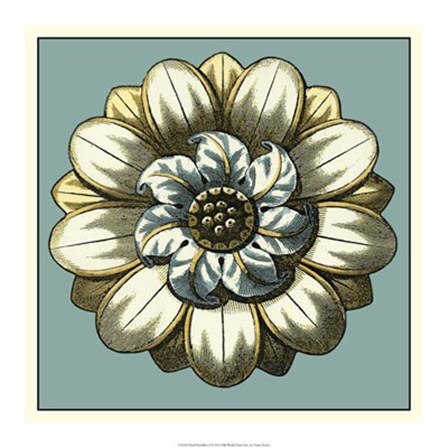 Floral Medallion I by Vision Studio art print