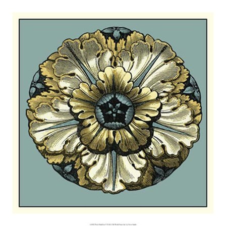 Floral Medallion V by Vision Studio art print