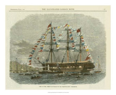Antique Clipper Ship I by Vision Studio art print
