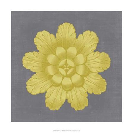 Gilded Rosette III by Vision Studio art print