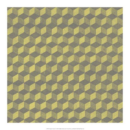 Graphic Pattern V by Vision Studio art print