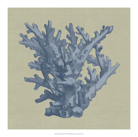 Chambray Coral I by Vision Studio art print