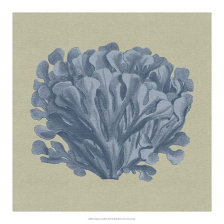 Chambray Coral III by Vision Studio art print