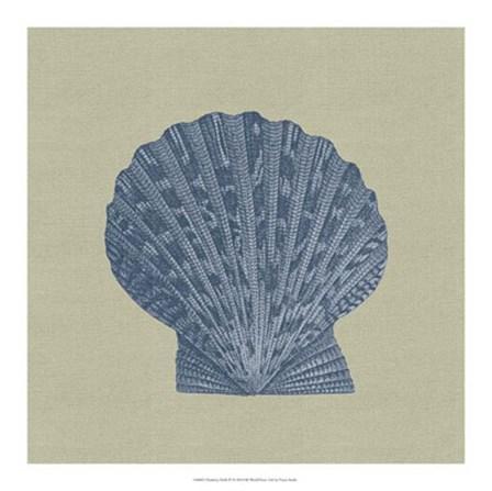 Chambray Shells IV by Vision Studio art print