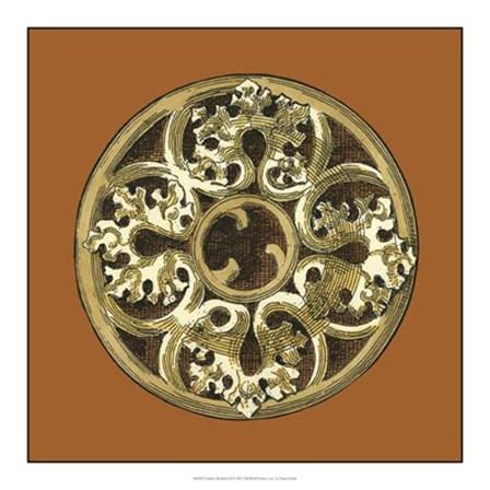 Graphic Medallion II by Vision Studio art print