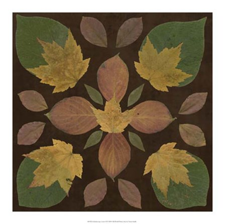 Kaleidoscope Leaves II by Vision Studio art print
