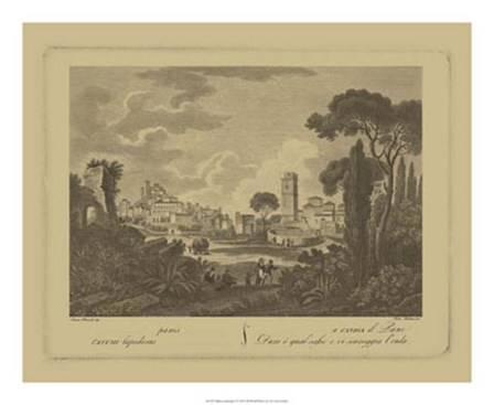 Italian Landscape I by Vision Studio art print