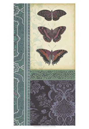 Butterfly Brocade I by Vision Studio art print