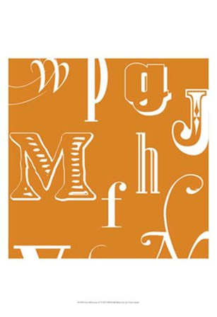 Fun With Letters II by Vision Studio art print