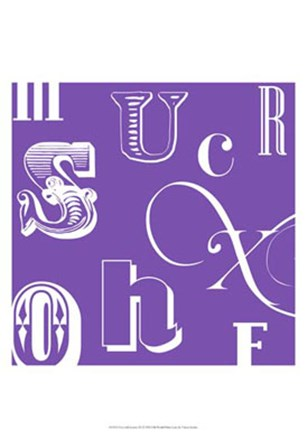 Fun With Letters III by Vision Studio art print