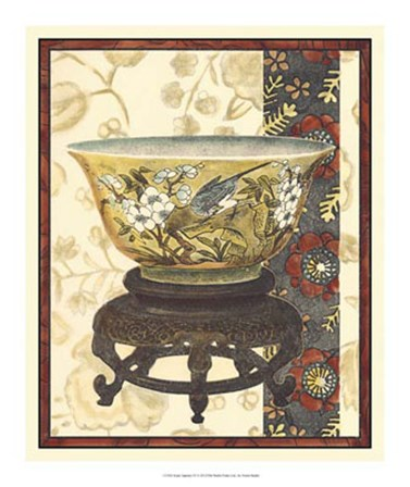 Asian Tapestry IV by Vision Studio art print