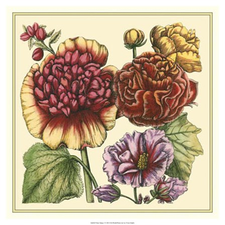 Floral Spray I by Vision Studio art print