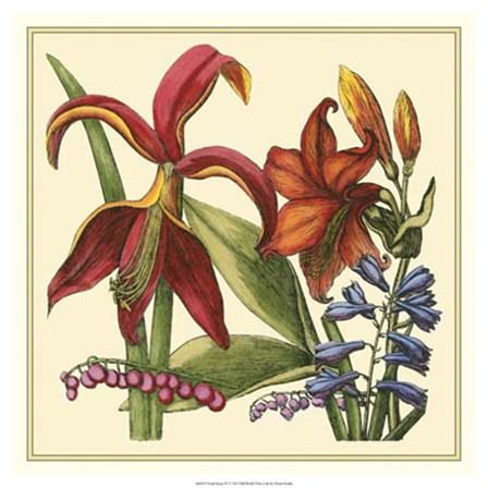 Floral Spray IV by Vision Studio art print