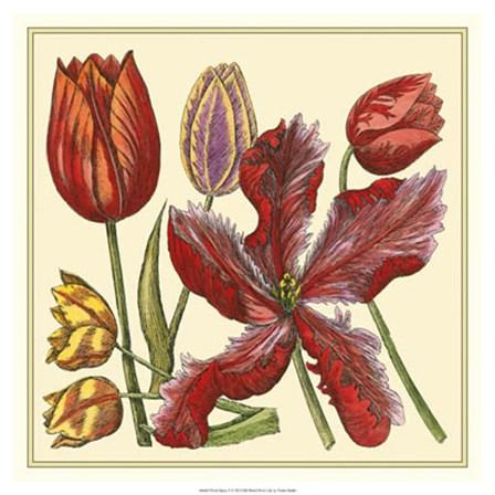 Floral Spray V by Vision Studio art print
