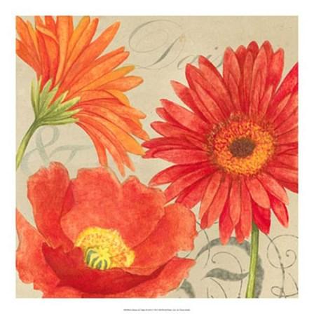 Daisies & Tulips II by Vision Studio art print