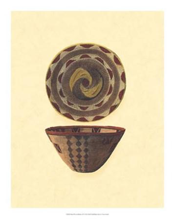 Hand Woven Baskets II by Vision Studio art print