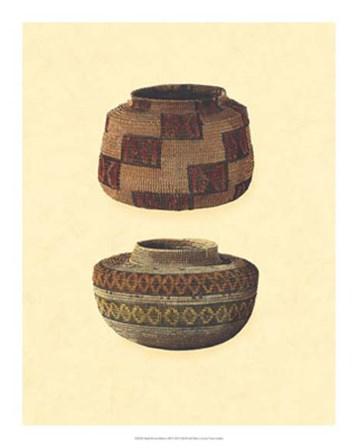 Hand Woven Baskets III by Vision Studio art print