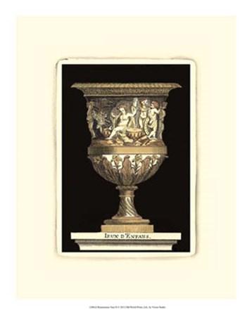 Renaissance Vase II by Vision Studio art print