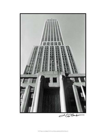 Empire State Building I by Laura Denardo art print