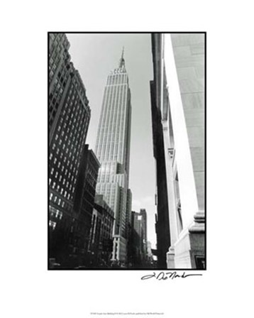 Empire State Building II by Laura Denardo art print