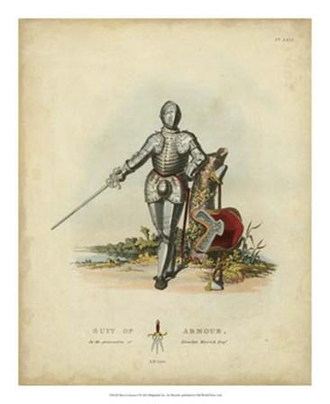 Men in Armour I by Samuel R. Meyrick art print