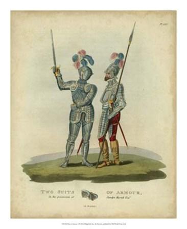 Men in Armour II by Samuel R. Meyrick art print