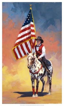 All American by Julie Chapman art print