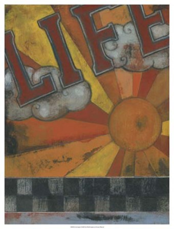 Life Inspires by Norman Wyatt Jr. art print