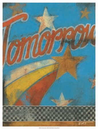 Tomorrow Inspires by Norman Wyatt Jr. art print