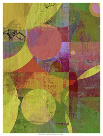 Vibrant Ellipses I by Ricki Mountain art print
