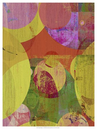 Vibrant Ellipses II by Ricki Mountain art print