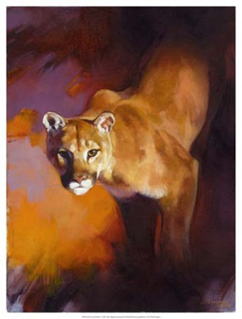 Out of the Shadows by Julie Chapman art print