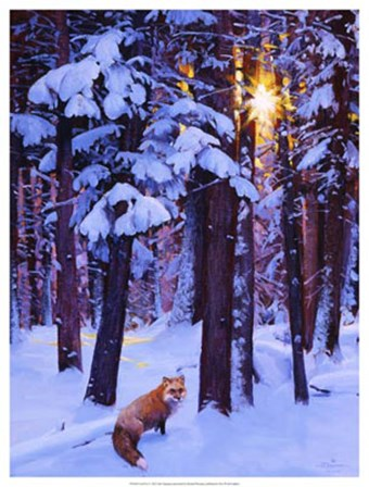 Cold Fire by Julie Chapman art print