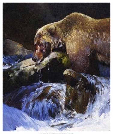 Barehanded Fishing by Julie Chapman art print
