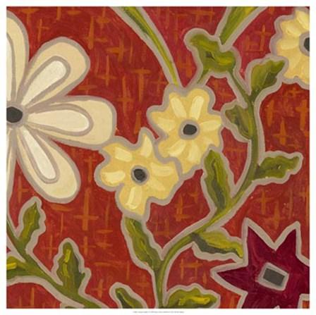 Autumn Garden by Karen Deans art print
