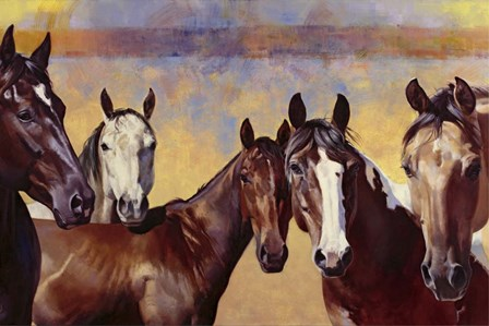 The Boys by Julie Chapman art print