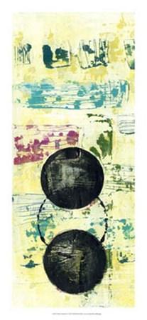 Retro Textures I by Jennifer Goldberger art print