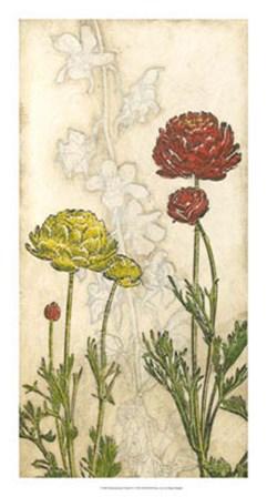 Indian Summer Florals IV by Megan Meagher art print
