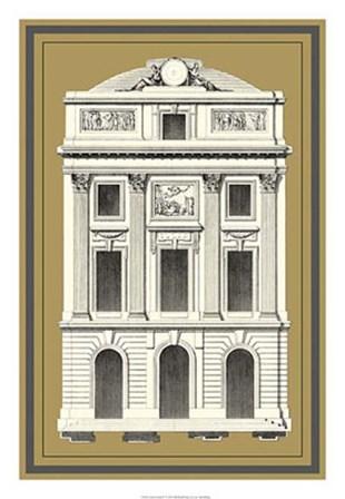 Grand Facade IV by Jean F. De Neufforge art print