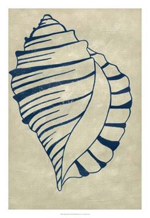 Indigo Shell V by Chariklia Zarris art print