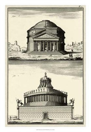 The Pantheon by Denis Diderot art print