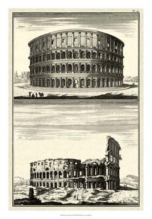 The Colosseum by Denis Diderot art print