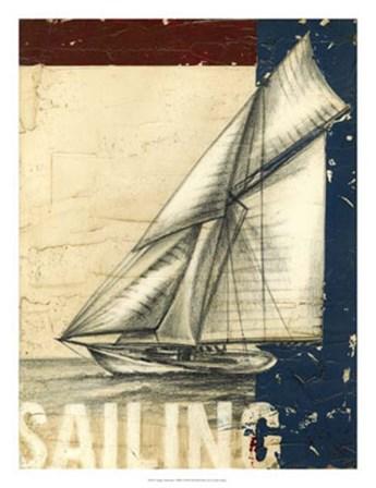 Vintage Tradewinds I by Ethan Harper art print
