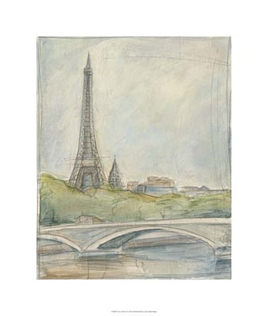 View of Paris III by Ethan Harper art print