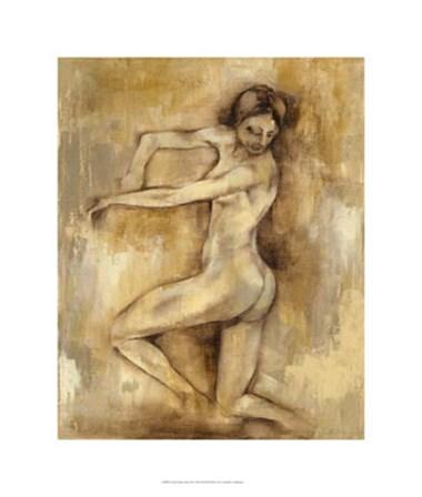 Nude Figure Study III by Jennifer Goldberger art print