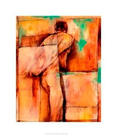 Abstract Proportions I by Jennifer Goldberger art print