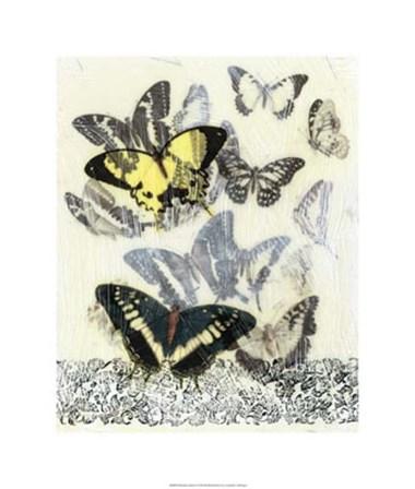 Butterfly Habitat I by Jennifer Goldberger art print
