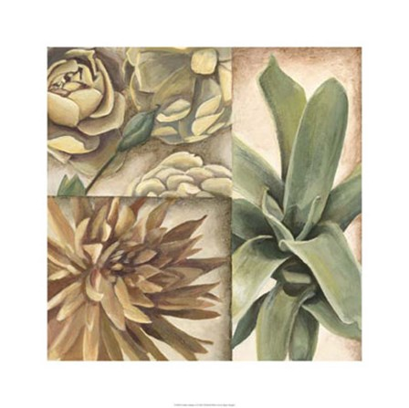Garden Glimpses I by Megan Meagher art print