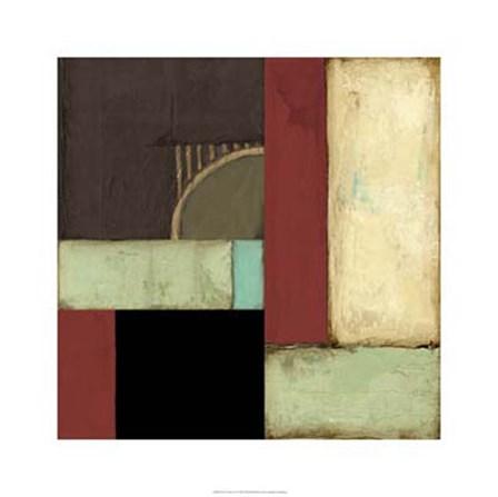 Loft Abstract I by Jennifer Goldberger art print